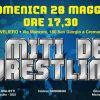 """Il grande wrestling torna a Napoli. Il 28 maggio al Palaveliero lo show """"I Miti del Wrestling"""""""