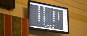 schermo consiglio comunale 30 novembre 2012