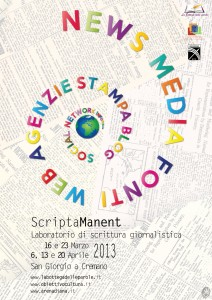 locandina scripta manent