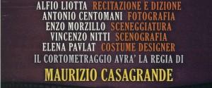 Stage cinematografico finalizzato ad un corto diretto da Maurizio Casagrande