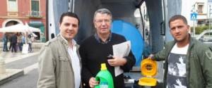 Nuovo successo per la raccolta degli oli esausti in piazza Troisi