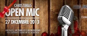 Christmas OPEN MIC - 27 Dicembre 2013