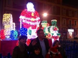 Giorgiano con il Babbo Natale