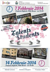 talents students prima fase
