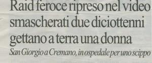 San Giorgio e'-press su LA REPUBBLICA di NAPOLI