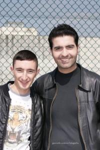 da sinistra: Ciro Petrone e Gianni Marino