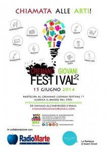Cremano Giovani Festival locandina