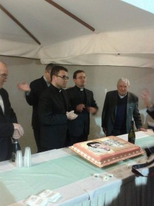 padre Donato e padre Roberto con Don Gennaro