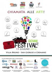Locandina ufficiale Cremano Giovani Festival