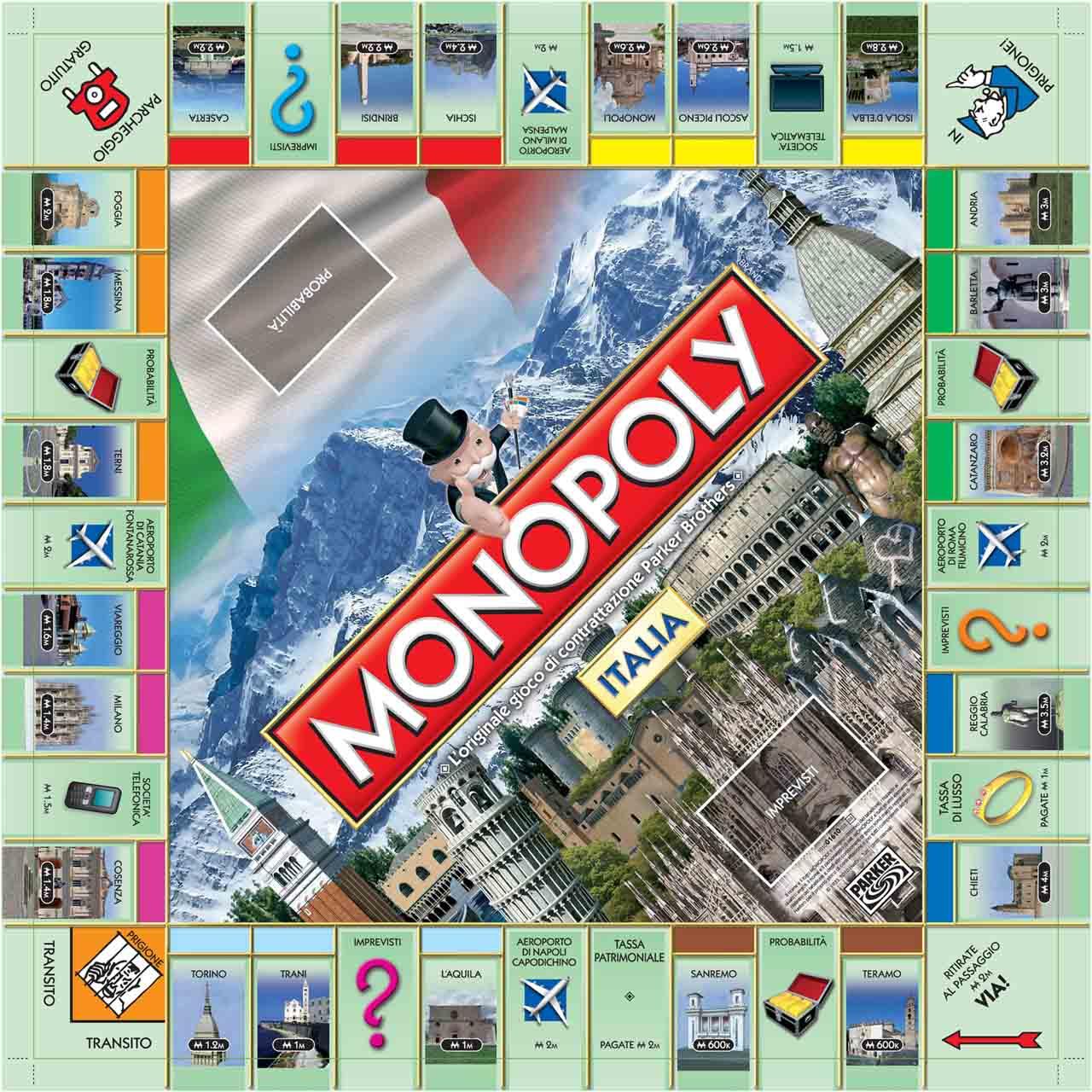 San Giorgio a Cremano sul tabellone del Monopoly 2017 Partito il voto, appello ai cittadini